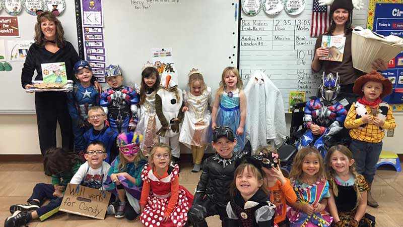 Preschool Halloween Party