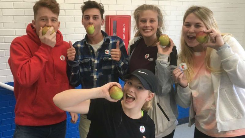 Apple Crunch - Farm to School Initiative